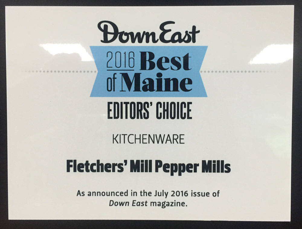 Fletchers Mill voted Downeast Magazine Best of Maine