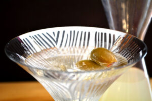 The Classic Dry Vodka Martini